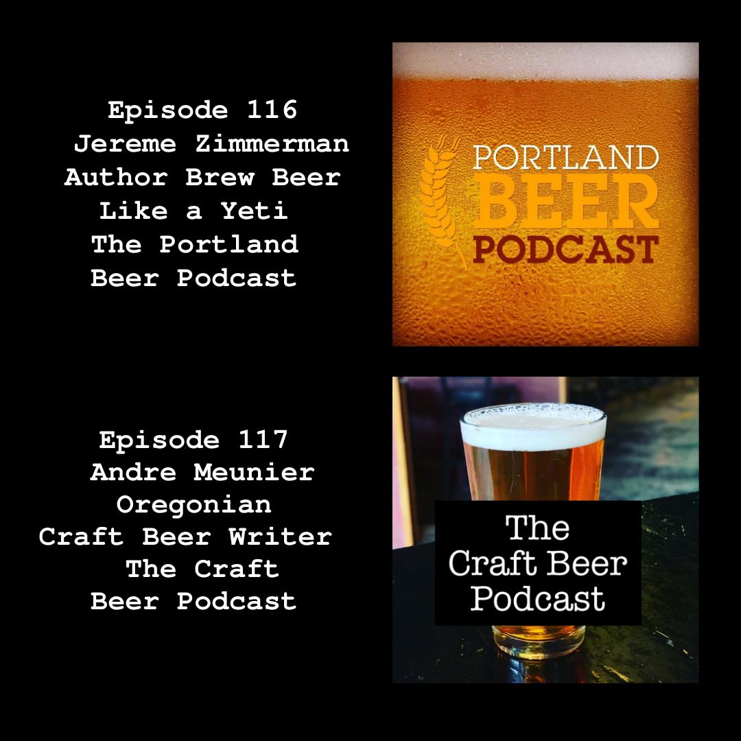 From The Portland Beer Podcast to The Craft Beer Podcast