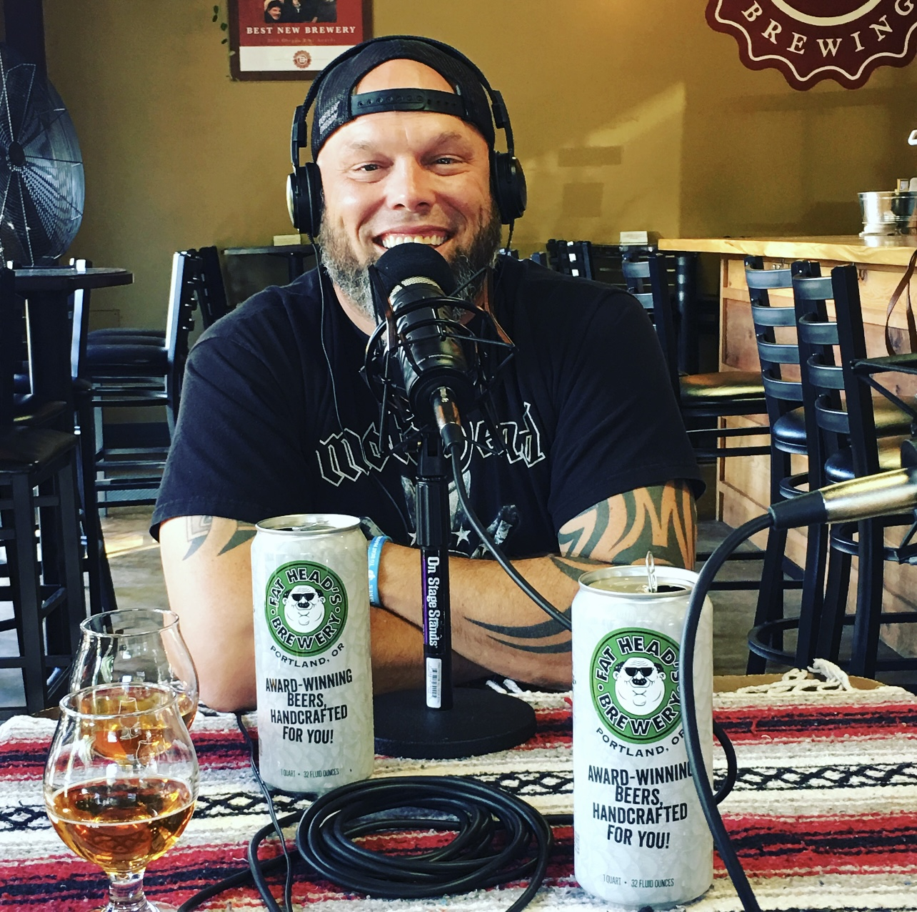 Michael Hunsaker Head Brewer Fat Head's Portland - Portland Beer Podcast Episode 14 by Steven Shomler