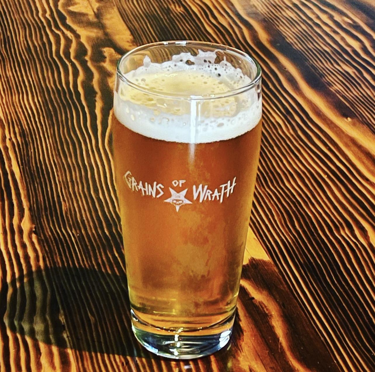 Michael Hunsaker Grains of Wrath Brewery - Craft Beer Podcast Episode 128 by Steven Shomler
